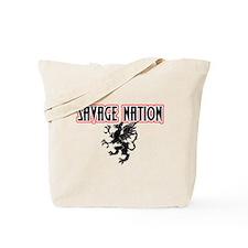 Savage Nation - Heraldry Desi Tote Bag