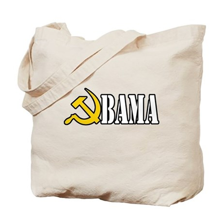 OBAMA - HAMMER AND SICKLE - C Tote Bag