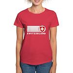 Switzerland Vintage Women's Dark T-Shirt