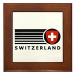 Switzerland Vintage Framed Tile