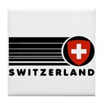 Switzerland Vintage Tile Coaster
