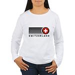 Switzerland Vintage Women's Long Sleeve T-Shirt