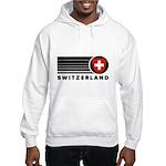 Switzerland Vintage Hooded Sweatshirt