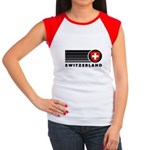 Switzerland Vintage Women's Cap Sleeve T-Shirt