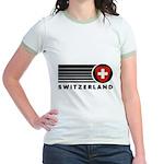 Switzerland Vintage Jr. Ringer T-Shirt