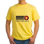 Switzerland Vintage Yellow T-Shirt