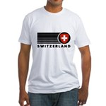 Switzerland Vintage Fitted T-Shirt
