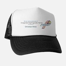 Christian Kime CDH Awareness Ribbon Trucker Hat
