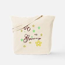 60 & groovy Tote Bag
