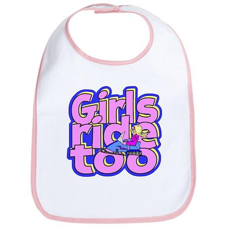 Girls Ride Too Bib