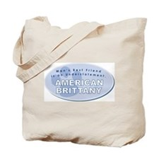 American Brittany Friend Tote Bag