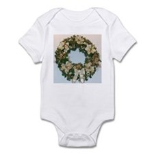 Christmas Wreath Infant Bodysuit