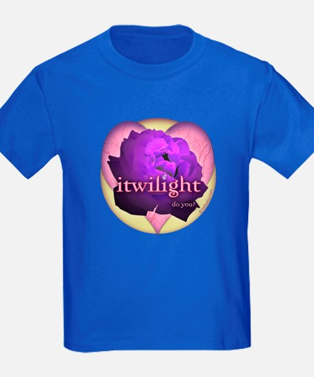 itwilight Do You? Purple Rose of Love T