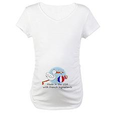Stork Baby France USA Shirt