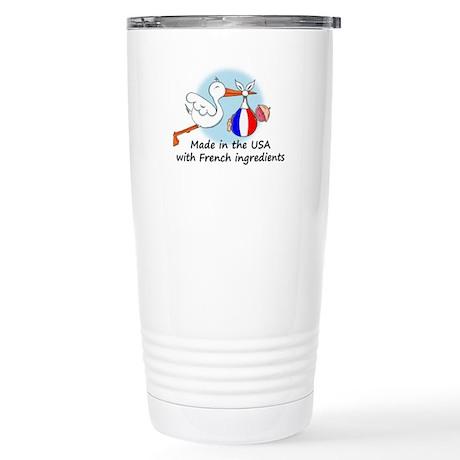 Stork Baby France USA Stainless Steel Travel Mug