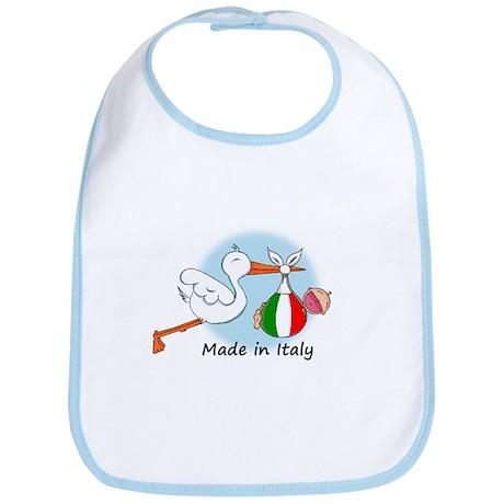 Stork Baby Italy Bib
