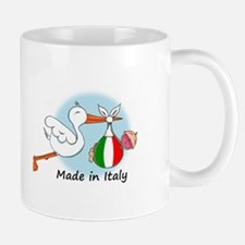 Stork Baby Italy Mug
