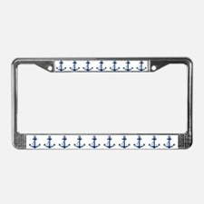 Anchor License Plate Frame