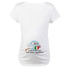 Stork Baby Italy USA Shirt
