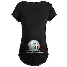 Stork Baby Italy USA T-Shirt