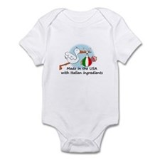 Stork Baby Italy USA Infant Bodysuit