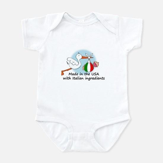 Stork Baby Italy USA Infant Bodysuit
