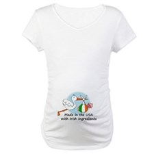 Stork Baby Ireland USA Shirt
