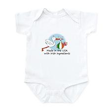 Stork Baby Ireland USA Infant Bodysuit