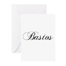 BASTOS-2 Greeting Cards (Pk of 10)