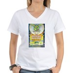 Bright Night Women's V-Neck T-Shirt