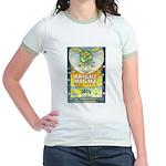 Bright Night Jr. Ringer T-Shirt