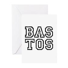 BASTOS-3 Greeting Cards (Pk of 10)