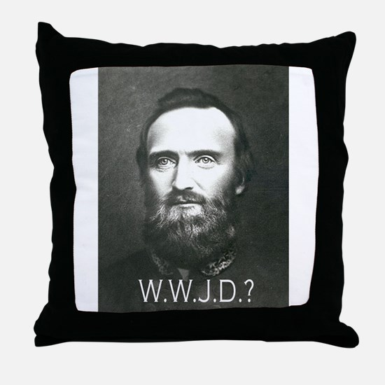 What Would Jackson Do? Throw Pillow