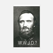 What Would Jackson Do? Rectangle Decal