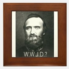What Would Jackson Do? Framed Tile