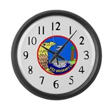 USS Oriskany (CVA 34) Large Wall Clock