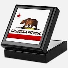 California Bear Keepsake Box