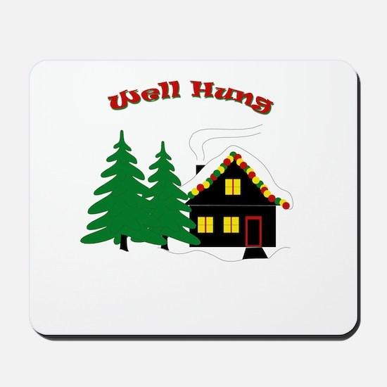 Well Hung Mousepad