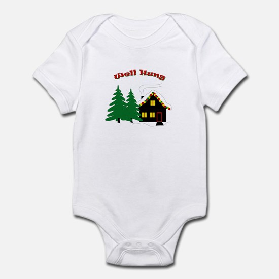 Well Hung Infant Bodysuit