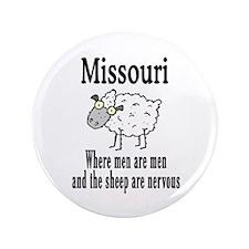 """Missouri Sheep 3.5"""" Button"""