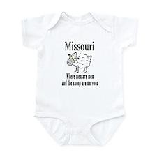 Missouri Sheep Infant Bodysuit