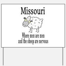 Missouri Sheep Yard Sign
