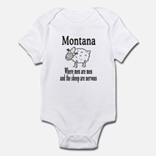 Montana Sheep Infant Bodysuit
