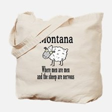Montana Sheep Tote Bag