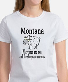 Montana Sheep Women's T-Shirt