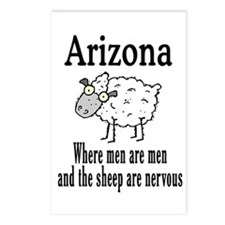 Arizona Sheep Postcards (Package of 8)