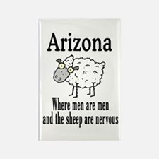 Arizona Sheep Rectangle Magnet