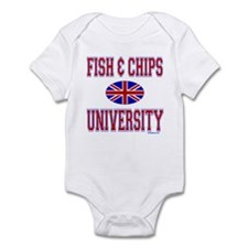 FISH AND CHIPS Infant Bodysuit