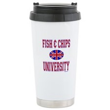 FISH AND CHIPS Travel Mug