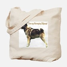 """Norwegian Elkhound"" Tote Bag"